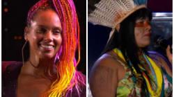 Alicia Keys fez o coração dos brasileiros bater mais forte com seu show no Rock in