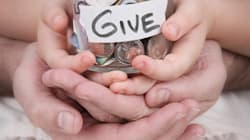 Giving Stuff Doesn't Help If We Don't Give A