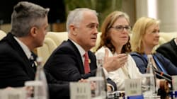 Turnbull In China: PM Urges Leaders Not To 'Hide Under The