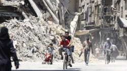 Red Cross Aid Reaches Besieged Damascus Suburb For First Time In Four