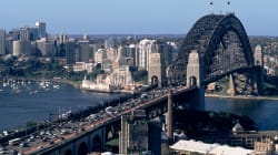 Trucker Pay Protest Rolls On Sydney Harbour