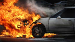 A Dad With Gifts For His Kids In The Backseat Burns To Death As Spectators Click