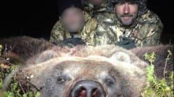 Les photos de Luc Alphand à la chasse aux ours font