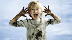 10 razones para dejar que tus hijos se ensucien hasta las