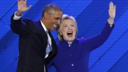 Hillary Clinton's Challenge This Election Is Not Just Donald Trump. It's Also Barack