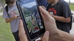 Splash! Man Falls Into A Lake While Playing Pokemon