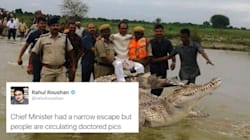 Shivraj Chouhan Turns Into An Overnight Meme After His 'Aerial Survey' In Flood-Hit
