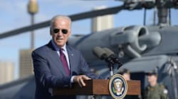'We're Not Going Anywhere': Biden Says America And Australia Lead The Way In The