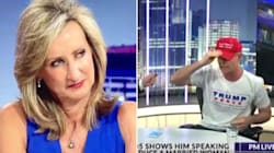 Sky Newsreader's Side-Eye To Trump Supporter Is Instant