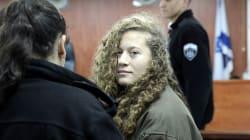 Ahed Tamimi: la palestina de 17 años encarcelada por golpear a un soldado