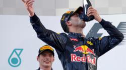 Daniel Ricciardo wins Formula One Malaysian Grand