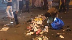 The Mess Outside The Coldplay Concert Venue Speaks Volumes About