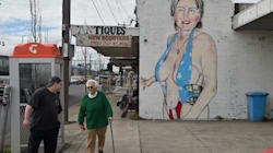 Hillary Clinton Reduced To Sexualised Caricature On Melbourne