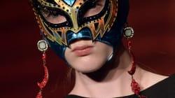 Máscara contra pasarela, la moda inspirada en la lucha