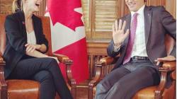 Emma Watson debate con el PM de Canadá sobre la