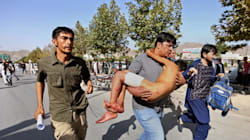 Blast Rips Through Kabul Protest Leaving 61 Dead, 207
