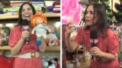Regina Duarte dando dicas de compras é o que você precisa para ser feliz neste