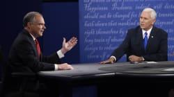 Pence y Kaine se enfrentan en el debate de