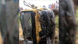 Seven Children Dead As School Van Collides With Train In