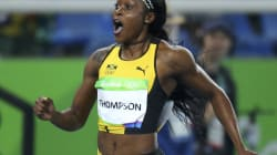 Jamaica's Elaine Thompson Claims Gold In Women's