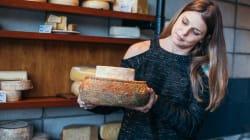 Ela é apaixonada por queijos e valoriza o sabor (e o produtor)