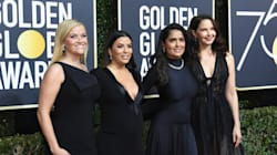 Stars Wear All Black At Golden Globes In Powerful Show Of