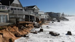 The Storm-Battered Beach Community That Is Fighting The Ocean For