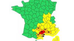 L'Hérault en vigilance rouge pluies-inondations jeudi