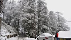 Season's First Snowfall Gives Himachal Pradesh A White