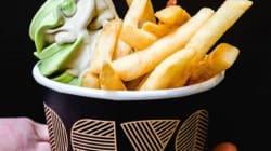 Et si cet été vous goûtiez le mélange frites et crème