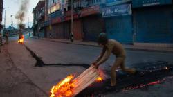 Pakistan Behind Violent Protests In Kashmir: