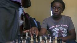 Les échecs pour échapper à un bidonville