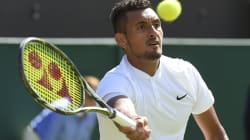 Nick Kyrgios In Heated Exchange With Journo After Five-Set Wimbledon