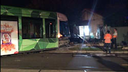 Melbourne Tram Derails, Smashes Into Bedroom Where Man Was