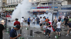 Shocking Scenes As Euro 2016 England Fans Clash With