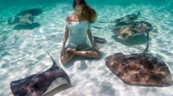 These Underwater Yoga Photos Prove The Practice Is Truly