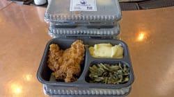 Ces plats gastronomiques sont livrés par des chefs à des seniors