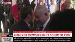 Netanyahu remercie Macron en français pour son
