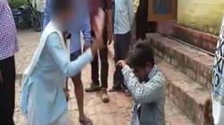 WATCH: Uttar Pradesh Woman Beats Man With Slipper After He Passes Lewd