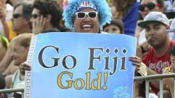 Incredible Scenes As Fiji Wins First Olympic