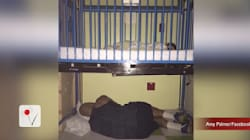 VIDEO: Photo Of Father Sleeping Under His Son's Hospital Bed Goes