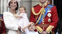 Princess Charlotte Makes Her First Palace Balcony