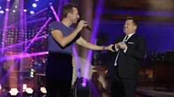 James Corden Joins Coldplay On Stage For Magical Tribute To