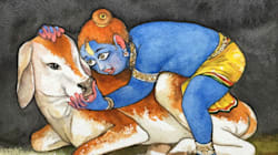 This Artist's Evocative Krishna Illustrations Are All You Need To See