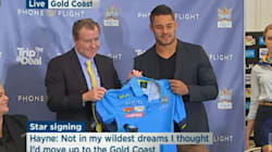 Jarryd Hayne To Return To The NRL With Gold Coast