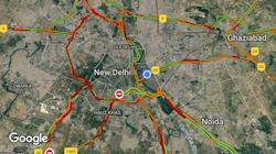 Delhi Downpour: National Capital Arrested By Traffic Jams And