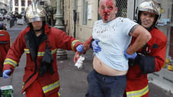England And Russian Supporters In Third Day Of Violent