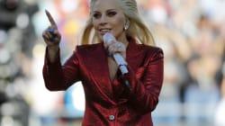 Lady Gaga hace 'touch down' en el Super