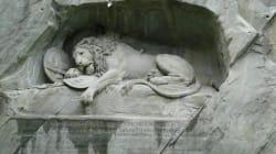 Lucerna y el león más triste del