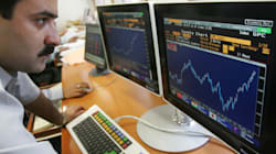 Sensex Slides 400 Points Ahead Of TCS, Infosys